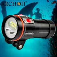 DHL ARCHON D37VP 100M Underwater Diving Flashlight Torch Light 5200 Lumens 8*CREE XM L2 +2*CREE XP E+2*UV+2*CREE XM L2