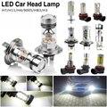 Bright Headlight 12-24V CERR Car LED Light Luminous Bulb Kit High/Low Beam Lamps H3 H4 H7 H11 HB3 Shockproof 600-1000LM LED Bulb