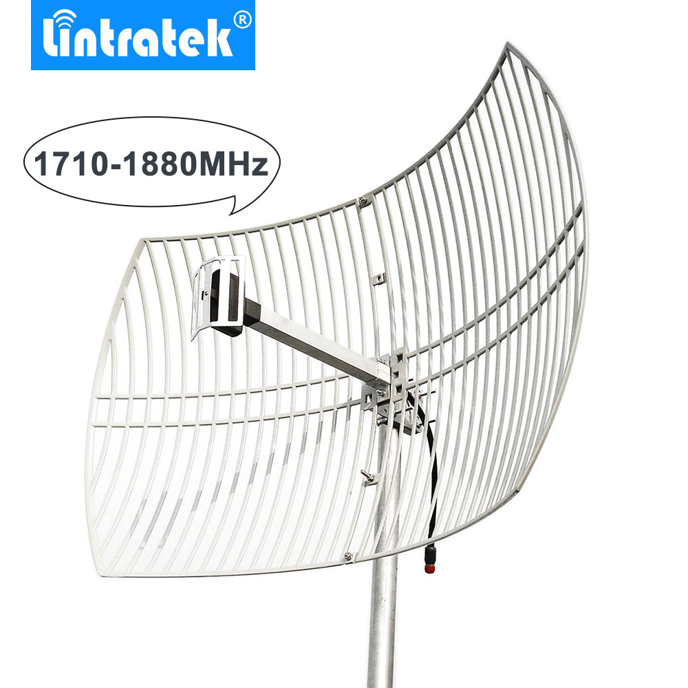 20dBi Grid Antenna GSM 1800 External Antenna Big Coverage For 4G LTE 1800MHz Mobile Phone Signal Repeater Booster Amplifier /