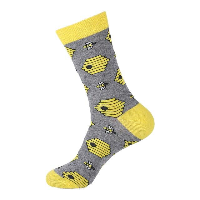 Cotton Harajuku Funny Dress Socks 1
