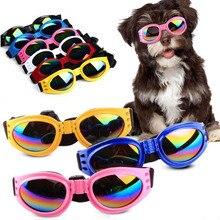 Pet Dog Sunglasses UV Sun Glasses Foldable Goggles Plastic Eye Wear Protection J2Y
