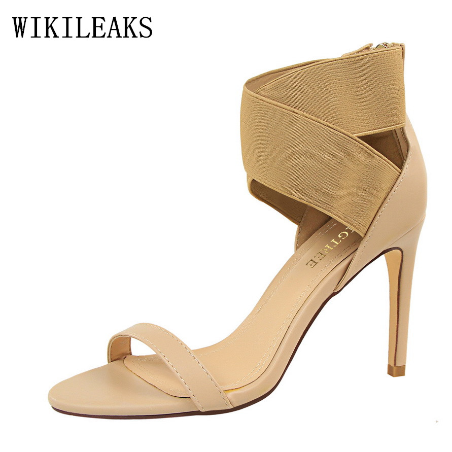 2017 Sexy Pumps Pointed Toe Women Shoes Wedding Shoes Designer Luxury Brand Ladies Cross-tied Red High Heel Sandals Bigtree Shoe  rome new sexy high heels wedding shoes woman 2017 brand cross tied women luxury retro square toe gladiator sandals women boots