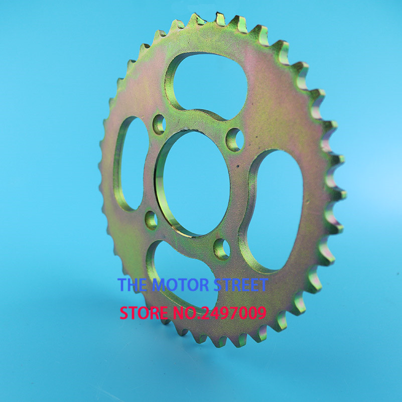 US $10 62 |Rear Sprocket 420 37T 48mm 37 Tooth Chain For Chinese ATV Quad  Pit Dirt Bike Motorcycle Motor Moped good quality-in Sprockets from