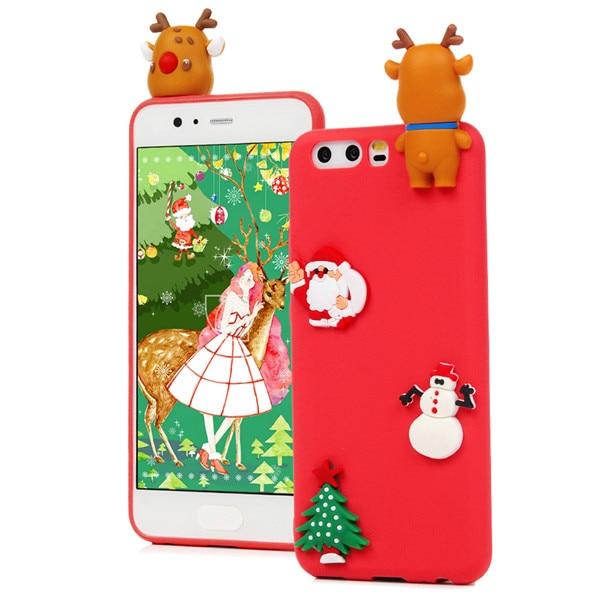 3D Cartoon Soft TPU Couqe Cases For Huawei P10 P10 Lite P8 Lite Case Fundas Silicone Panada Dreamcatcher Cover P2