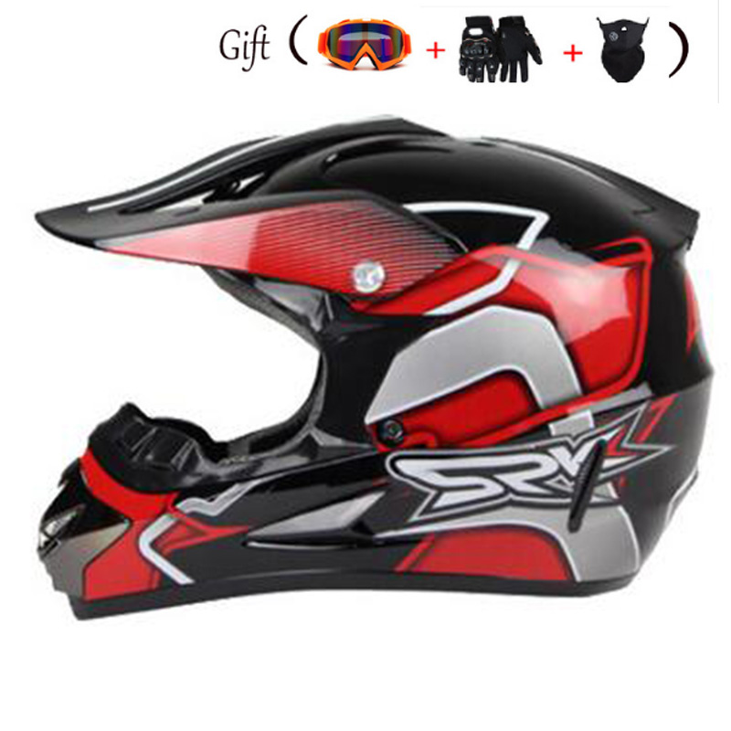 2018 New Design Motorcycle Helmet Mens Moto Helmet Top Quality Capacete Motocross Off Road Motocross Helmet Dot Casco de moto