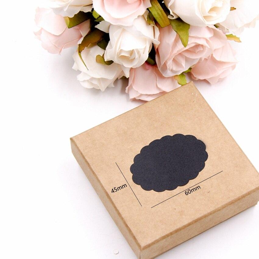 Купить с кэшбэком 80pcs/lot New black Erasable Blackboard Sticker Craft Kitchen Jars Organizer Labels Chalkboard Chalk Board Sticker Black Board