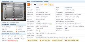 "Image 3 - 원래 샤프 LQ150X1LGB1 15 ""1024*768 LCD 디스플레이 패널"