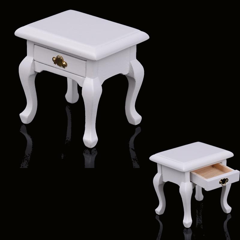 Dollhouse Elegance Rosewood Sofa Drawer 1:12 Miniature Furniture Decor