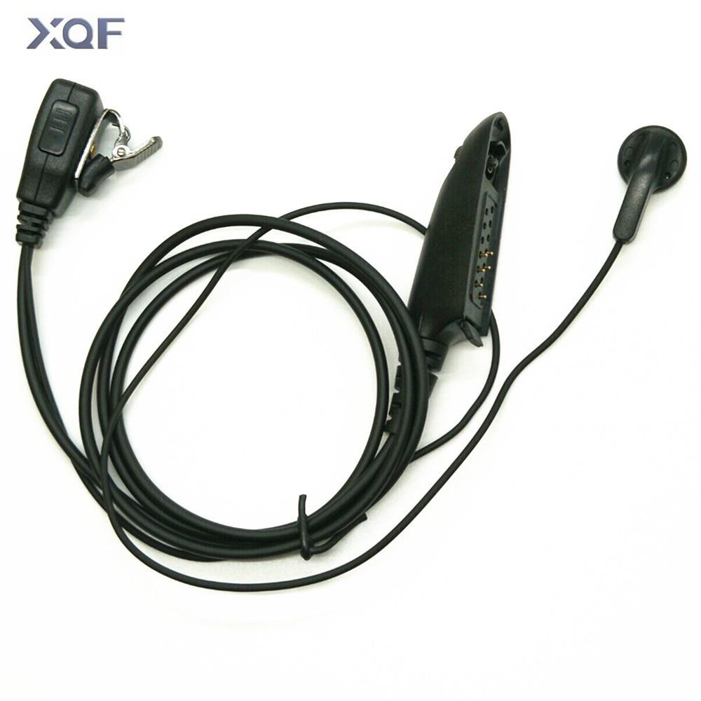 PTT MIC Earpiece For Motorola Radio HT750 HT1250 GP328 GP329 GP338 GP339 MTX850 PRO5150 PRO5350 Two Way RadioBlack