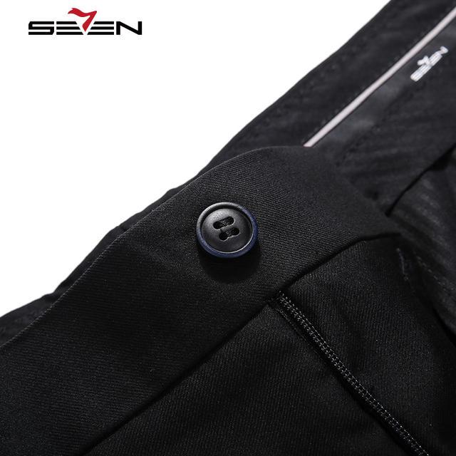 Seven7 Brand 2017 New Men's Suit Pants Comfort Formal Pants High Quality Business Trousers Men's Casual Business pant  111B70060