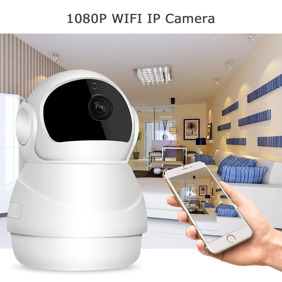1080P 2MP font b Wireless b font IP Camera Wifi Home Security CCTV Camera Video Recording