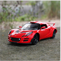 1:32 Diecast Model Child Toys Simulation Alloy Car Model Toys Lotus Andean Cool Pull Sound And Light Back Force Gift X291