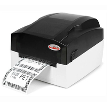 Godex EZ-1105 108mm label&barcode printer support Thermal Transfer&Direct Thermal print method able to print jewelry tag
