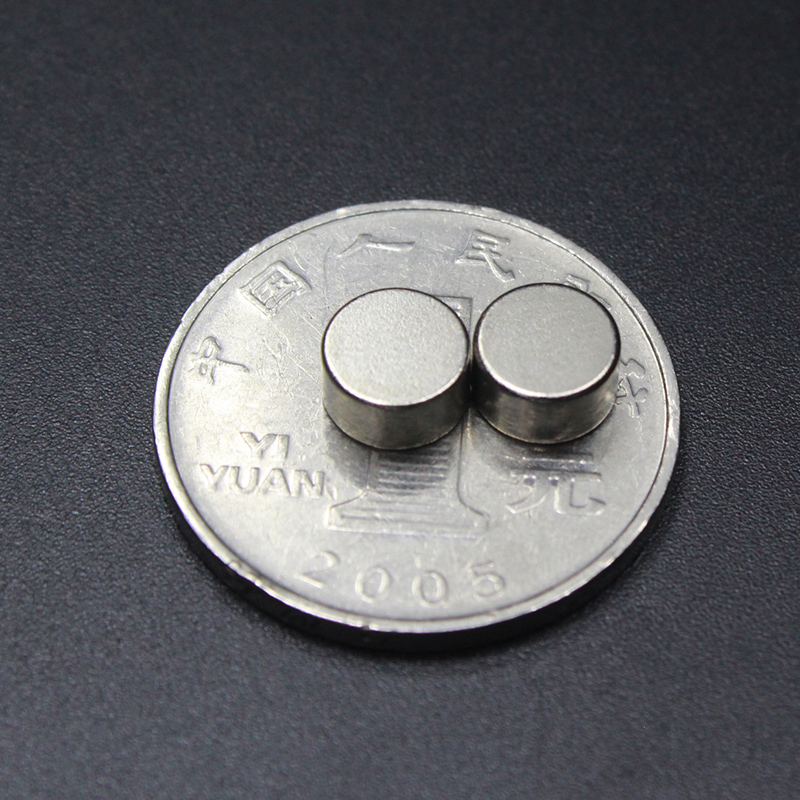 wholesale 50PCS D7 4mm round N50 Strong magnetic force rare earth Neodymium magnet diameter 7X4MM in Magnetic Materials from Home Improvement