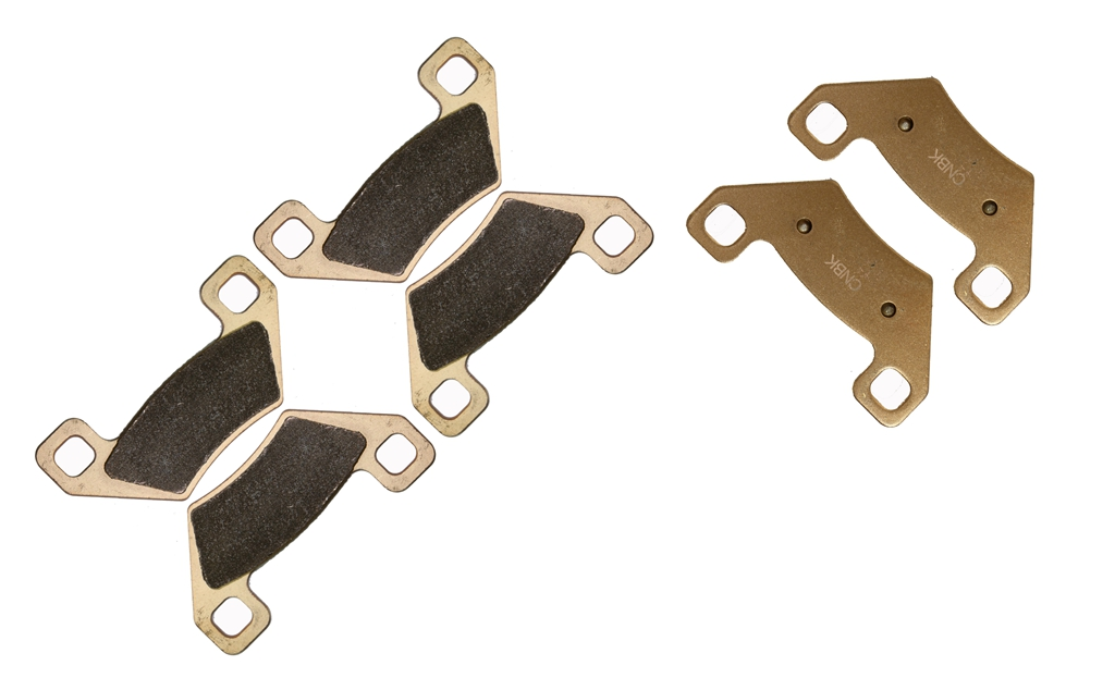 Front Rear Brake Pads For Arctic Cat Act Auto TBX Utility 400 4X4 2005 2006