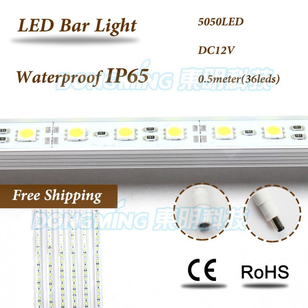Aliexpress Com Buy 50cm Aluminum Led Smd3014 Chip Under: Aliexpress.com : Buy Ip65 Waterproof 5050 Smd LED Luces
