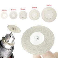 20-50 мм Dremel аксессуары алмазные шлифовальные круги пилы круглый нож с диском Dremel роторный инструмент алмазные диски
