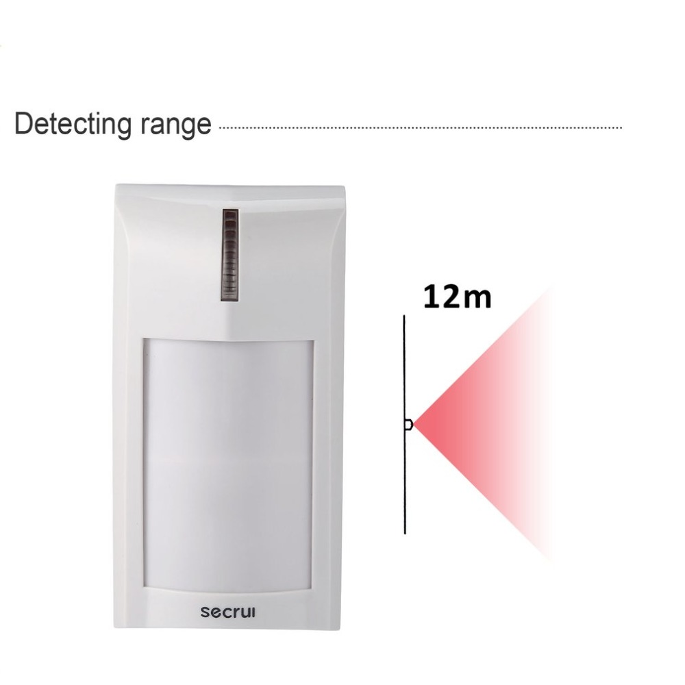 Dual Sensor Technology Passive Infrared Detector Digital Dual Core Infrared Detector Import Sensors Anti-pet Feature