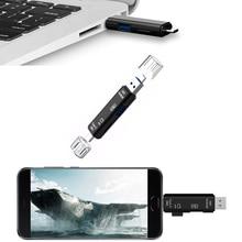 2018 All In 1 USB 3.1 OTG Card Reader SD TF Micro SD Card Reader Type C USB C Micro USB Memory Support Mac10 Win7/8/xp/vista