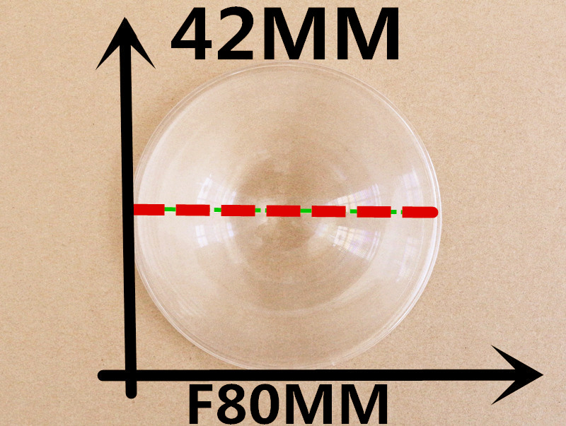 Diameter 42mm Focal length 80mm for DIY <font><b>Google</b></font> <font><b>cardboard</b></font> <font><b>VR</b></font> <font><b>virtual</b></font> <font><b>reality</b></font> 3D <font><b>glasses</b></font> <font><b>storm</b></font> mirror <font><b>VR</b></font> <font><b>glasses</b></font> Fresnel Lens