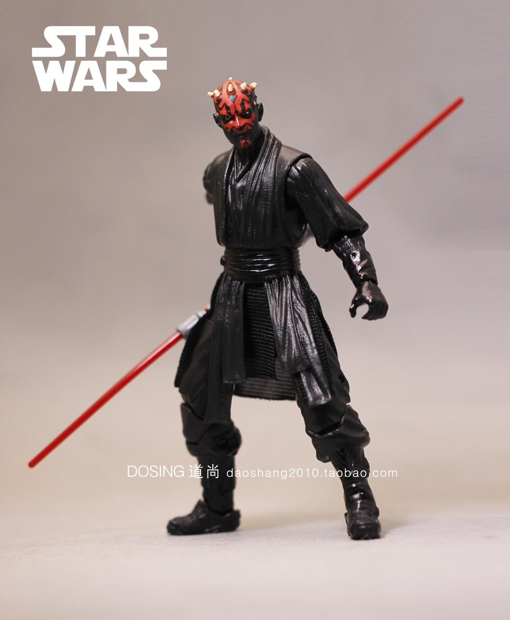 star wars action figure darth maul model toy star wars darth maul pvc action figure star wars. Black Bedroom Furniture Sets. Home Design Ideas
