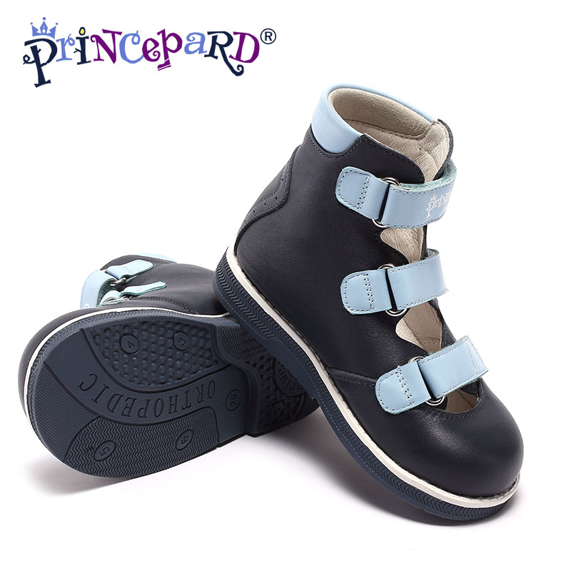 Princepard 2018 новая модель ортопедическая обувь для мальчиков босоножки сандали для мальчика садали десткие летние сапоги обувь для мальшей