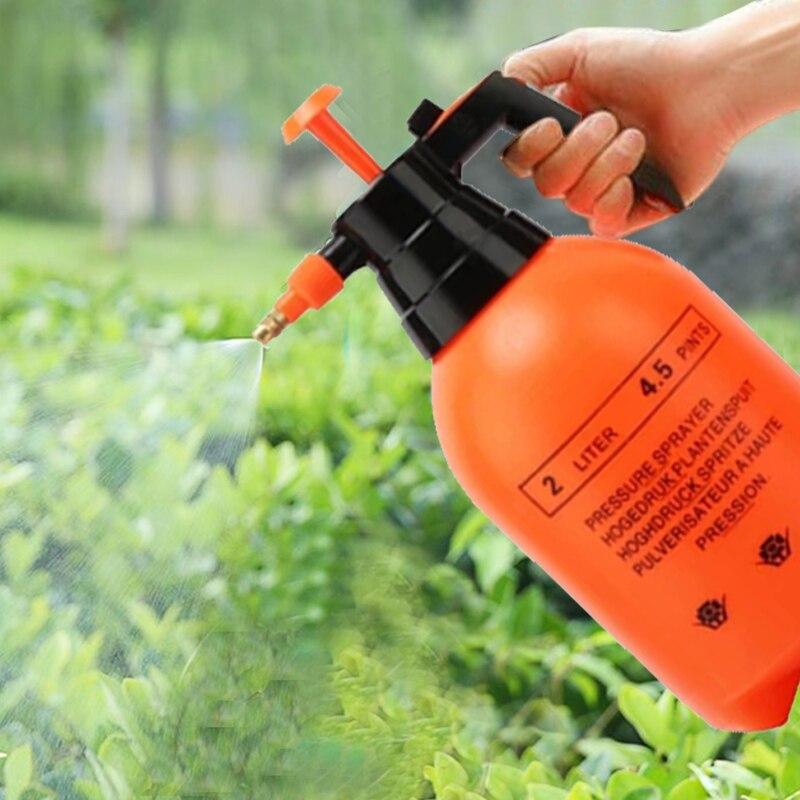 2L jardín spray para regar coche presión de lavado bote de pulverizador limpieza automática de compresión de aire de la bomba de la botella del rociador de la presión de la mano Invernadero pequeño para jardín, cobertizo para jardín, invernadero de exterior para jardín, aislamiento doméstico, invernadero de 3 tamaños