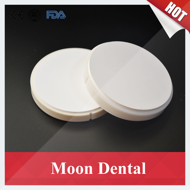 2 PCS HT ST OD98*10mm Wieland System Dental CAD/CAM Zirconia Ceramic Blocks with Plastic Ring Outside for Making Porcelain Teeth 1 pieces od98 20mm ht st dental zirconia ceramic blocks for wieland cad cam milling system zirconium block