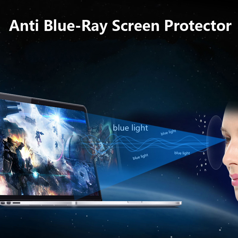 2 PCS Anti Blue-Ray 15.6 Screen Protector Guard for HP ENVY / Pavillion / Spectre x360 15t AP012dx AP011dx 15.6-inch