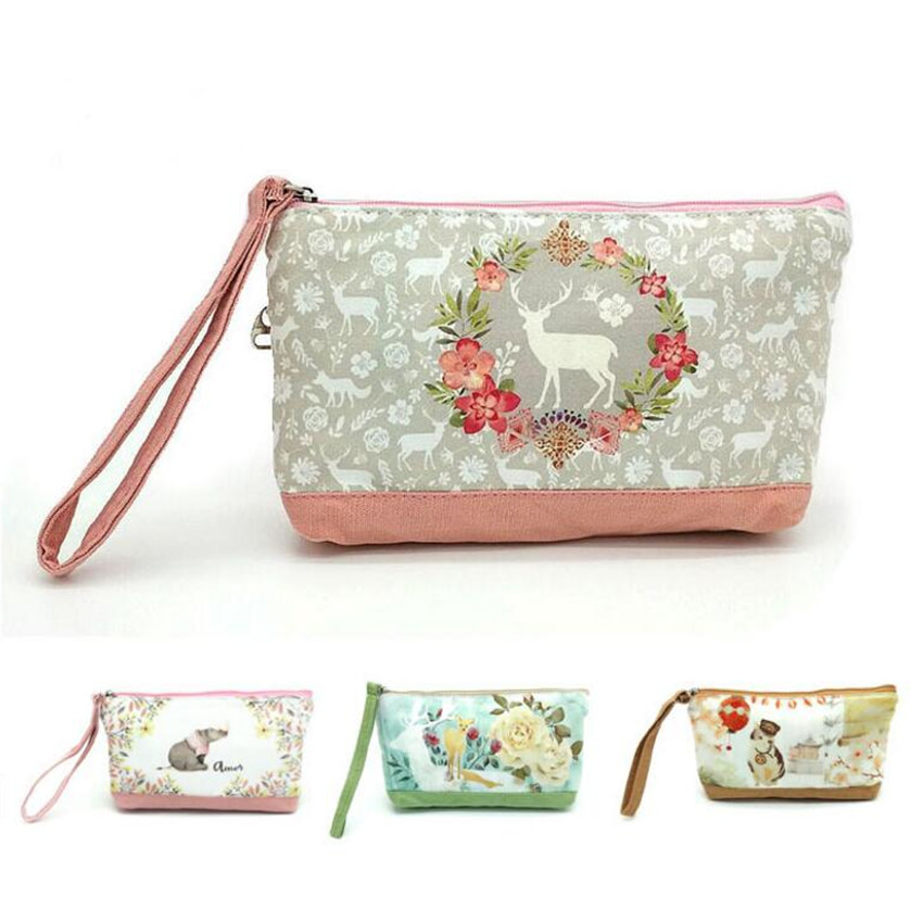 Clutch-Bag Fabric Creative M526 Spring Scent Charming-Fawn Squirrel Feels Happy Comfortable