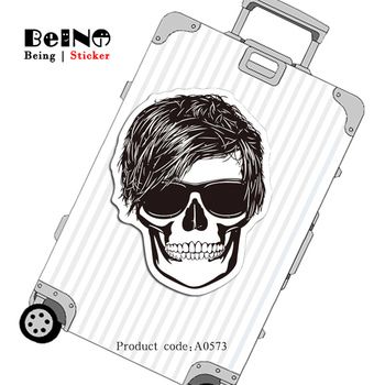 Cool Man Glasses Rock Hip Pop Sticker Funny Waterproof Suitcase Sticker Skateboard Notebook Guitar Child Toy A0573 Stickers QY32 Стикер