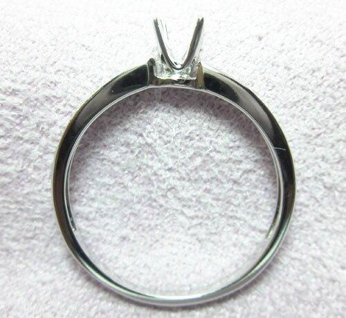 ՍՈԼԻԴ 14 ԿՎԱԾ ՈՍԿԵ ՈՍԿԵ 5MM ROUND ԿՈՏԵԼ 0,10 - Նուրբ զարդեր - Լուսանկար 5