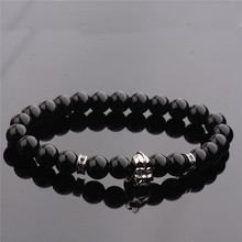 Star Wars Darth Vader Black Lava Stone Bracelets