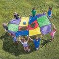 12 pçs/set Colorido Dos Retalhos Mat Toy Kids Jogos de Jogo de Construção de Equipe de Trabalho Ao Ar Livre Portátil Grande Playmat Peças Forma DIY Construir