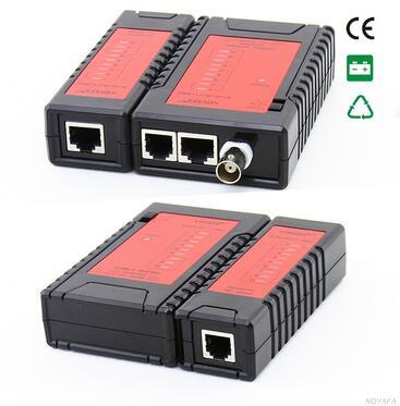 Бесплатная доставка! Хит продаж noyafa nf-468b сетевой кабель тестер LAN тестер использовать для тестирования телефонной сети и коаксил кабели