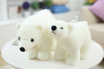 7.8 Inch Plush Polar Bear Sweet Cute Lovely Stuffed Baby Kids Toys for Girls Birthday Christmas Gift Cute Girl 20cm Baby Doll 4