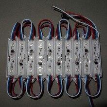 20 штук/строка DC12V p9883 led полноцветный пиксель модуль, IP68, 0.72 Вт; двойной сигнала провода; сигнал останова непрерывной передачи