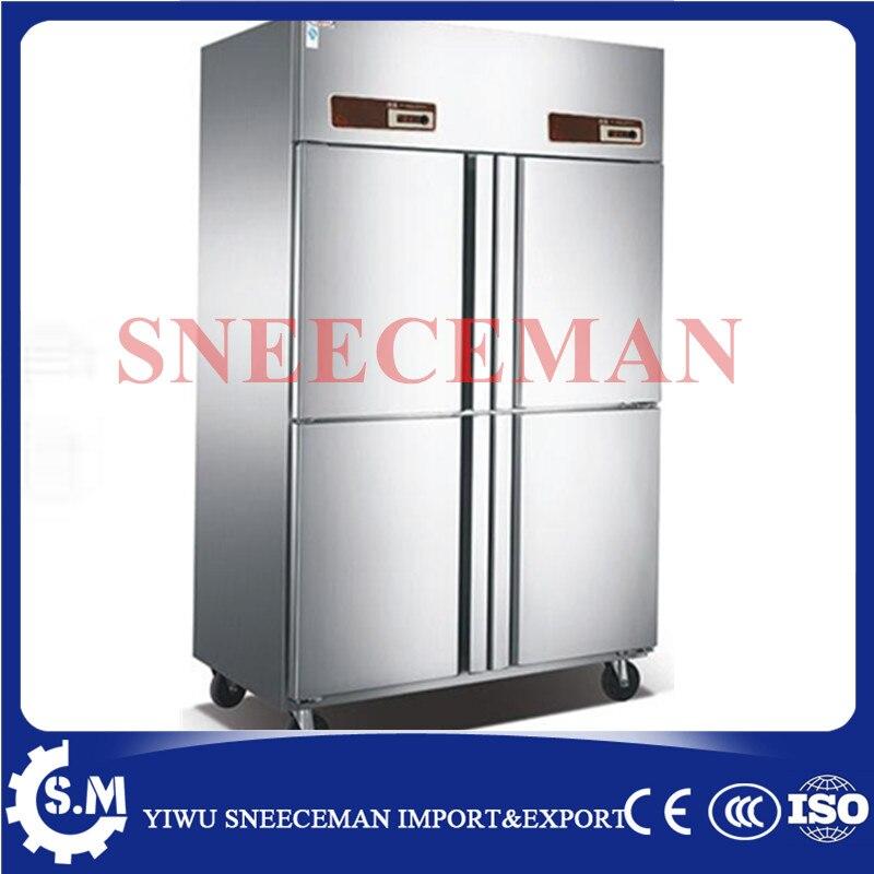 Commercial Four Door Commercial Kitchen Freezer, Console, Freezer, Kitchen  Refrigeration Equipment