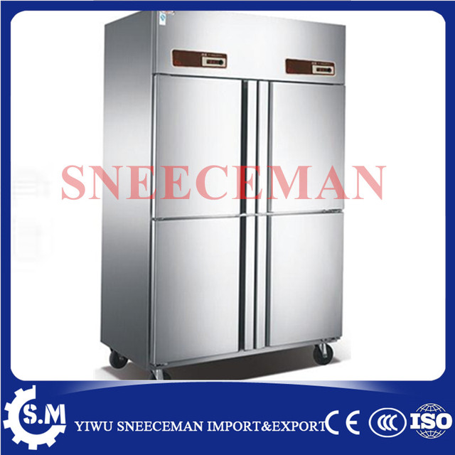 Commercial Four Door Commercial Kitchen Freezer, Console, Freezer, Kitchen  Refrigeration Equipment