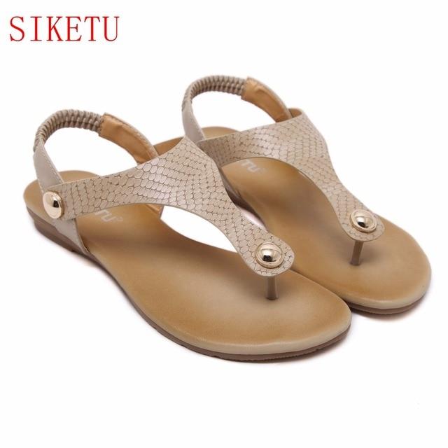 Flops Flip Solide Tong Siketu Mode 2017 Nouveau Femmes Chaussures ZqxtEn61gw