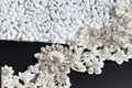 TOPQUEEN S157A Free shipping 100% pure handmade Wedding Appliques Unique appliques Pearls Crystal Evening Dresses Trimming