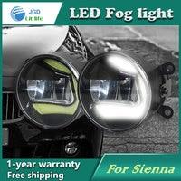2pcs Lot Super White 8 LED Daytime Running Lights For Toyota Sienna 2011 Drl Light Bar