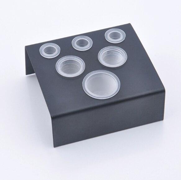 6/7/8 หลุมรอยสักหมึกคัพแต่งหน้าอุปกรณ์เสริมสีสุ่มTrailerอุปกรณ์Tatooเครื่องมือPigment Brackคอนเทนเนอร์