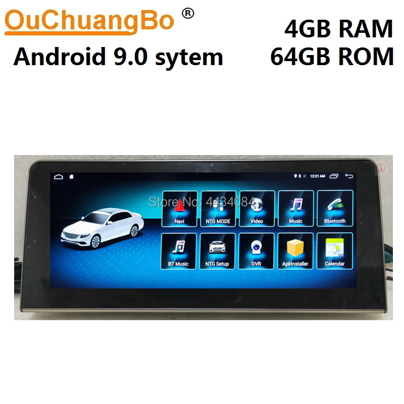 Ouchuangbo android 9 0 audio player radio for Mercedes Benz R R63 W251 R280 R300 R320 support gps navigation 8 cores 4GB 64GB in Car Multimedia Player from Automobiles Motorcycles