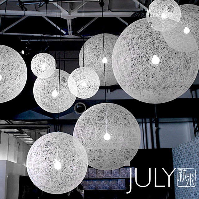 July Come To Terms Minimalist Designer Ikea Moooi Twine Ball Of Yarn Chandelier 60 80cm