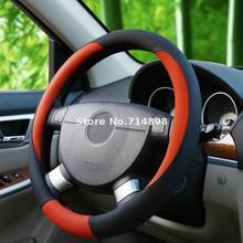 Рулевого Колеса автомобиля покрывает луну форму crubed симпатичные искусственная кожа овчины внутри автомобиль аксессуар колеса обложки средний размер 38 см