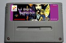 城ドラキュラ吸血鬼のキスアクションゲームカートリッジユーロバージョン吸血鬼キス