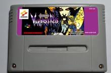 Cartucho de juegos de acción de Vampires kiss de Castlevania, versión EUR, Vampire kiss