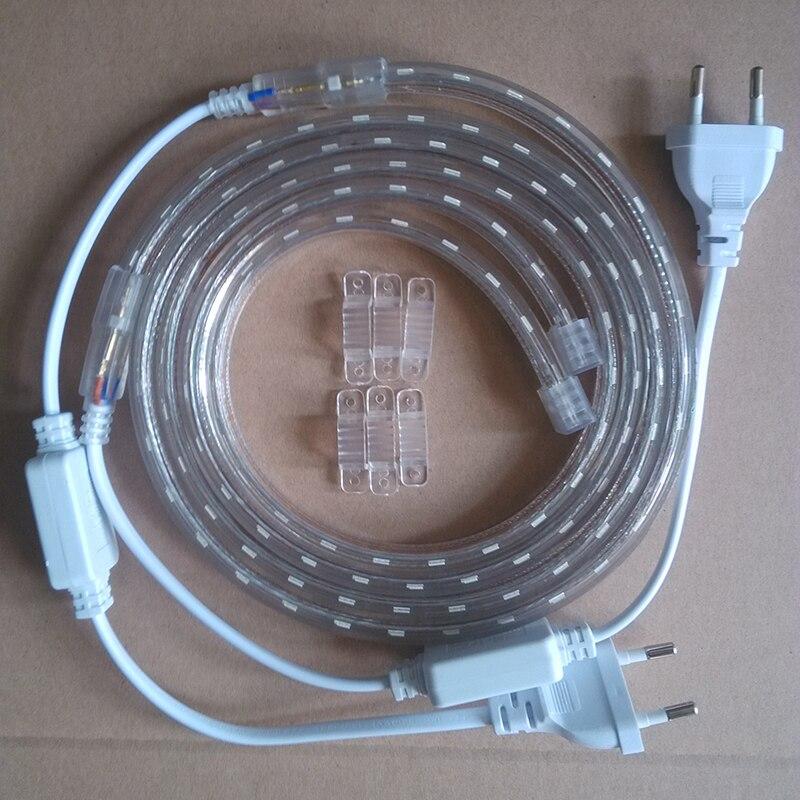 (1m crvena i 1m plava) LED svjetla za uzgoj traka 28,8 W / Lot 220V - Profesionalna rasvjeta - Foto 5