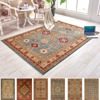 Turkey Imported Persian Carpet Living Room Nordic American Style Bedroom Bedside Retro Rugs 100% Polypropylene Thick Carpets